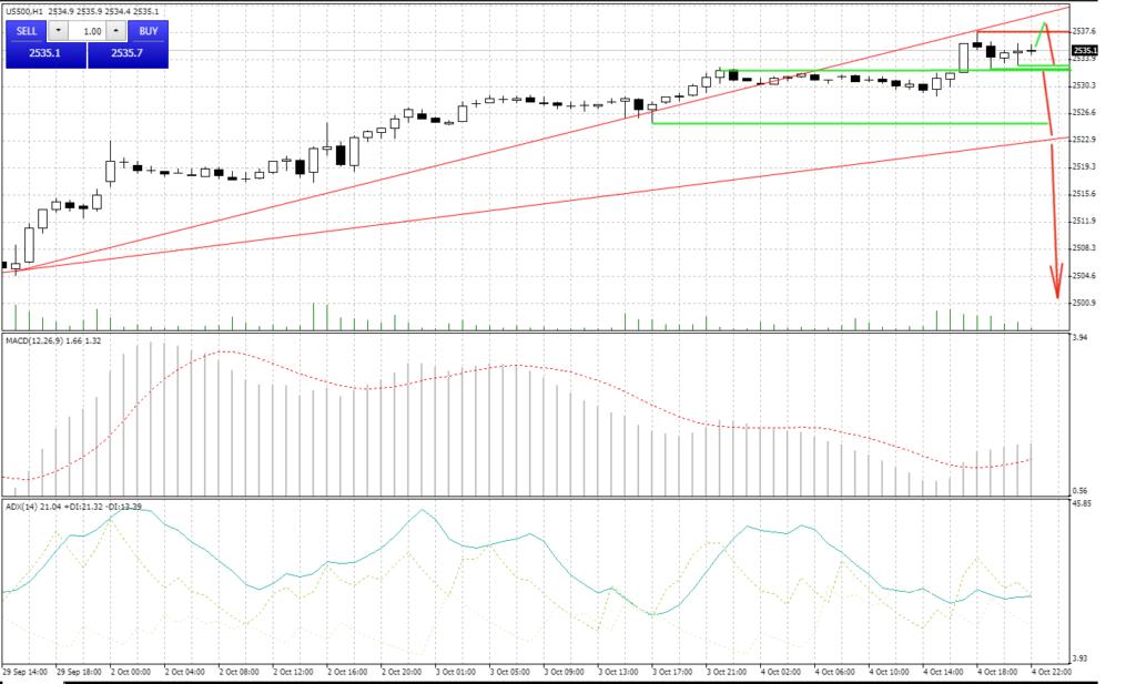 S&P500 - konkurs Index Cup