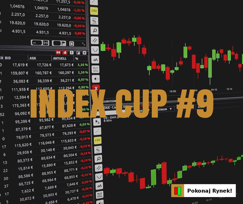 9 dzień konkursu inwestycyjnego Index Cup